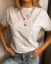 Majica - kod 4496 - bijela