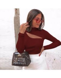 Bluza - kod 9622 - bordo