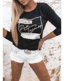 Bluza - kod 4223 - crna
