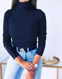 Polo bluza - kod 1120 - tamno plava
