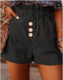 Kratke hlače - kod 9383 - crna