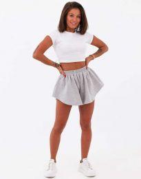 Kratke hlače - kod 11979 - siva