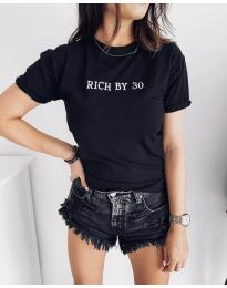 Majica - kod 951 - crna