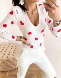Bluza - kod 11633 - bijela