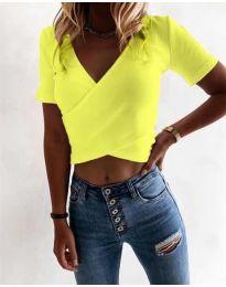 Majica - kod 1102 - jarko žuta