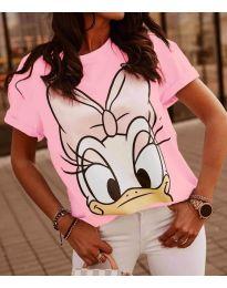 Majica - kod 4088 - 3 - roze