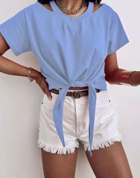 Majica - kod 11669 - svijetlo plava