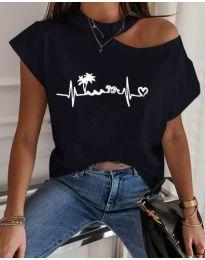 Majica - kod 206 - crna