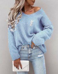 Džemper - kod 0866 - svijetlo plava