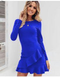Haljina - kod 2909 - plava