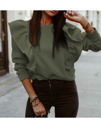 Bluza - kod 3890 - zelena