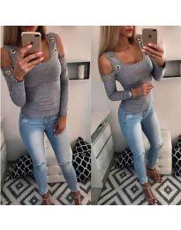 Bluza - kod 3534 - siva