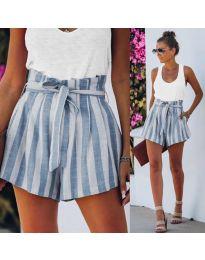 Kratke hlače - kod 9096 - svijetlo plava