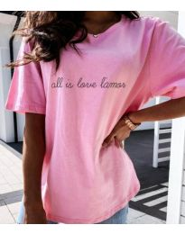 Majica - kod 36755 - roze