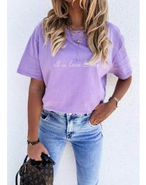Majica - kod 36755 - ljubičasta