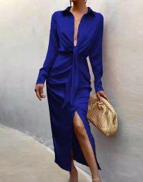 Haljina - kod 6459 - plava