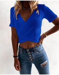 Majica - kod 1102 - tamno plava