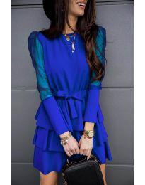 Haljina - kod 8384 - tamno plava