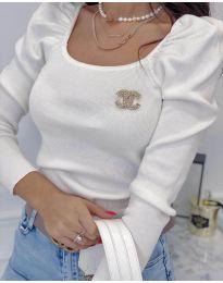 Bluza - kod 2180 - 5 - bijela