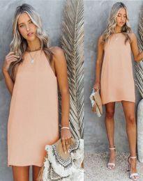 Haljina - kod 2169 - svijetlo ružičasta