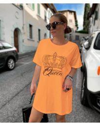 Haljina - kod 2525 - narančasta