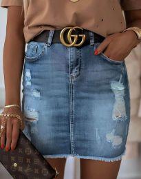 Suknja - kod 4310 - 1 - plava