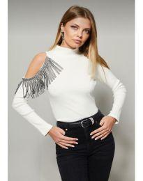 Bluza - kod 11464 - 2 - bijela