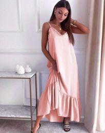 Haljina - kod 4671 - svijetlo ružičasta