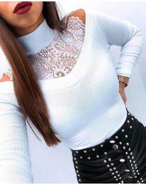 Bluza - kod 4254 - bijela