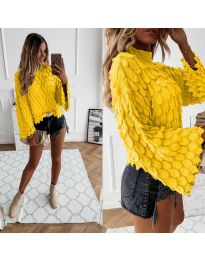 Džemper - kod 8092 - žuta