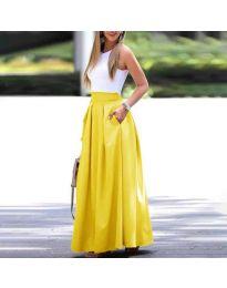 Suknja - kod 693 - žutа