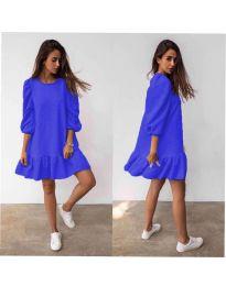 Haljina - kod 784 - plava