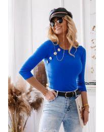 Bluza - kod 3151 - 2 - plava