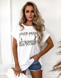Majica - kod 4578 - bijela