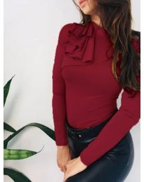 Bluza - kod 7987 - bordo