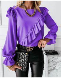 Bluza - kod 6009 - ljubičasta