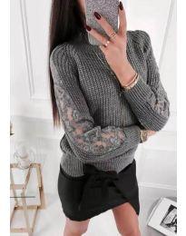 Džemper - kod 745 - siva