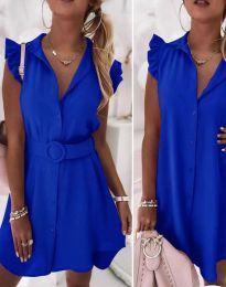 Haljina - kod 7411 - plava