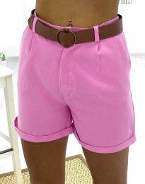 Kratke hlače - kod 2236 - 3 - roze