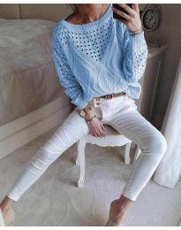 Bluza - kod 6182 - plava