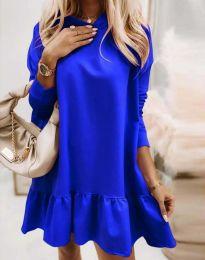 Haljina - kod 9376 - plava
