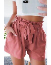 Kratke hlače - kod 3637 - breskva