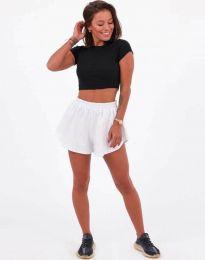 Kratke hlače - kod 11979 - bijela