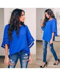 Bluza - kod 3371 - 3 - plava
