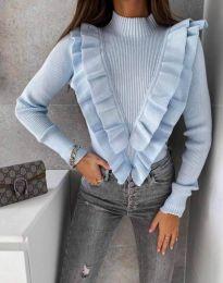 Bluza - kod 1682 - svijetlo plava