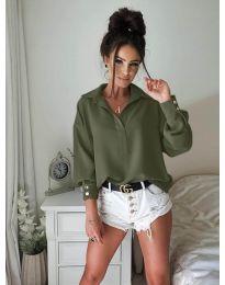 Košulja - kod 9898 - maslinasto zelena