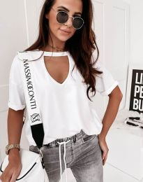 Majica - kod 11666 - bijela