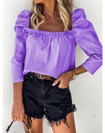 Bluza - kod 9906 - ljubičasta