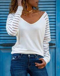 Bluza - kod 36211 - 2 - bijela