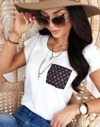 Majica - kod 11943 - bijela